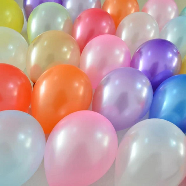 Ballon Nacré Métallisé