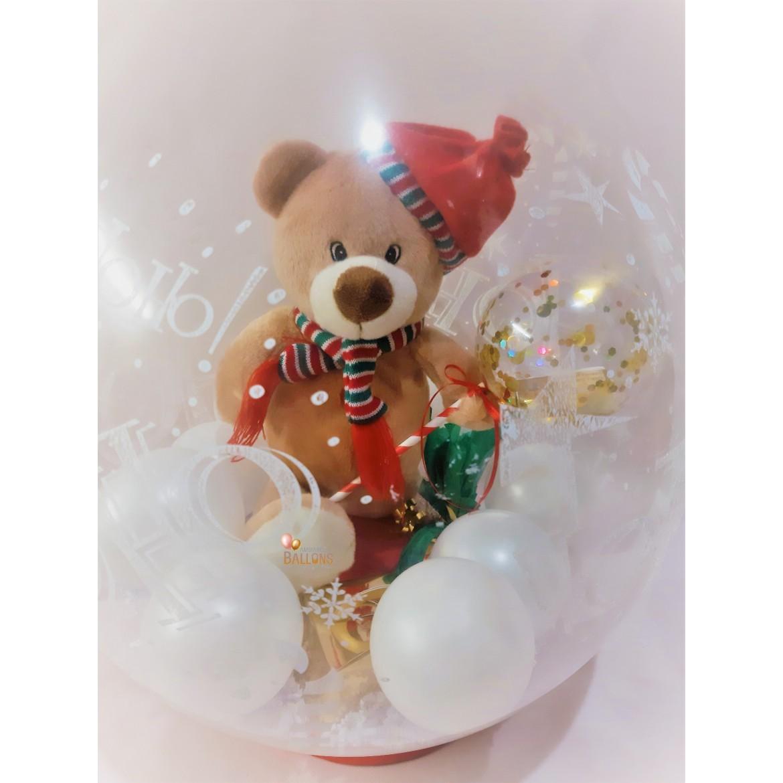 Les ballons s'invitent pour Noël, découvrez nos compositions !