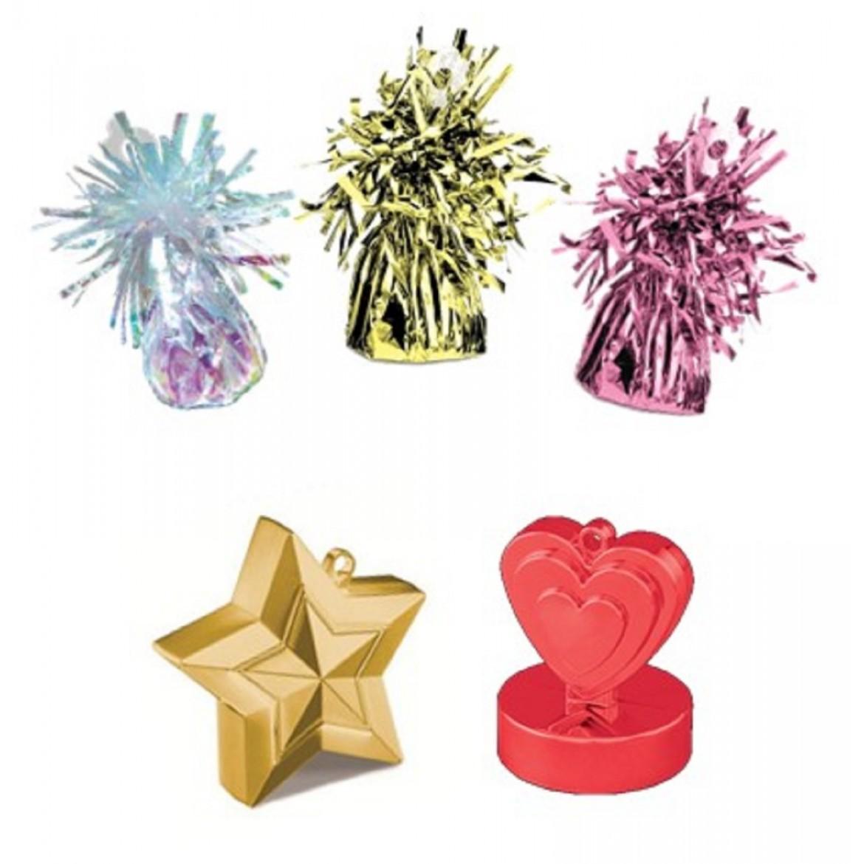 poids pour lester vos bouquets de ballons gonflés a l'hélium
