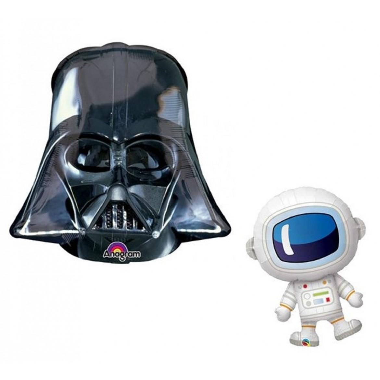 Ballon Espace Star Wars Astronaute Planète