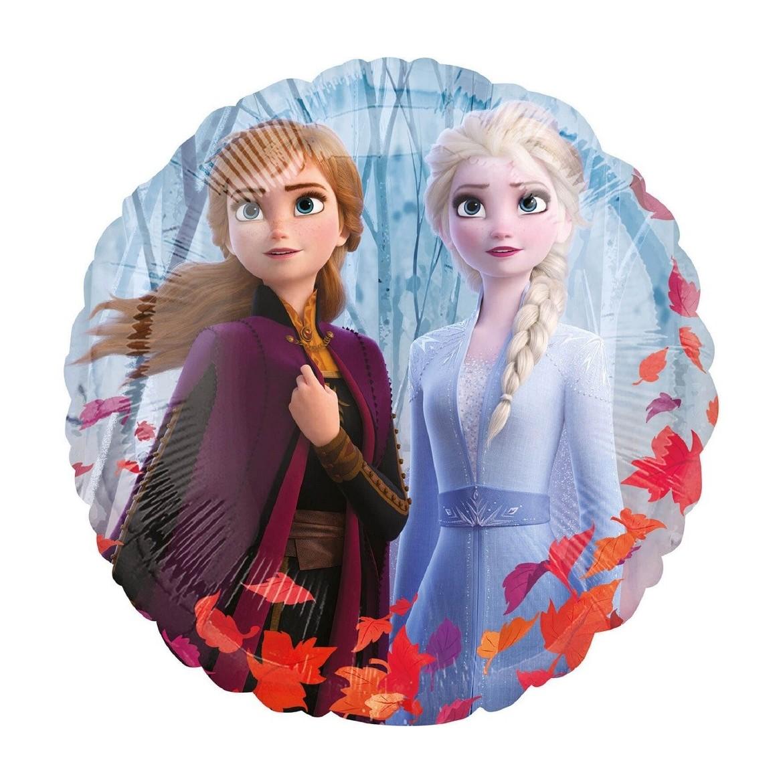 Ballon Reine des Neiges, Frozen II, Elsa, Ana, Olaf