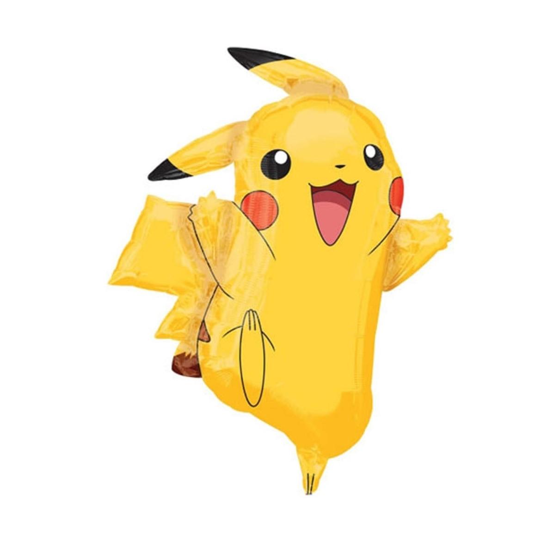 Ballon Pokémon Pikachu Salamèche Carapuce Pokeball