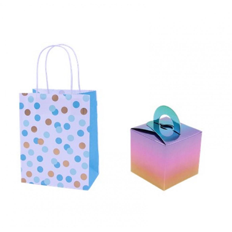 Pochette boîte pour fête cadeau à emporter