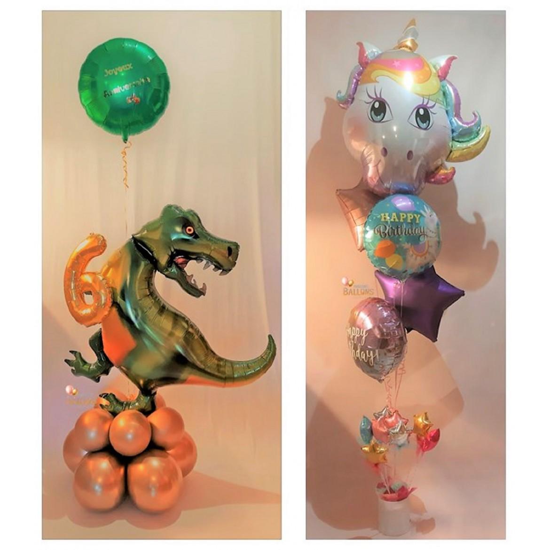 Composition de ballons à offrir - enfants