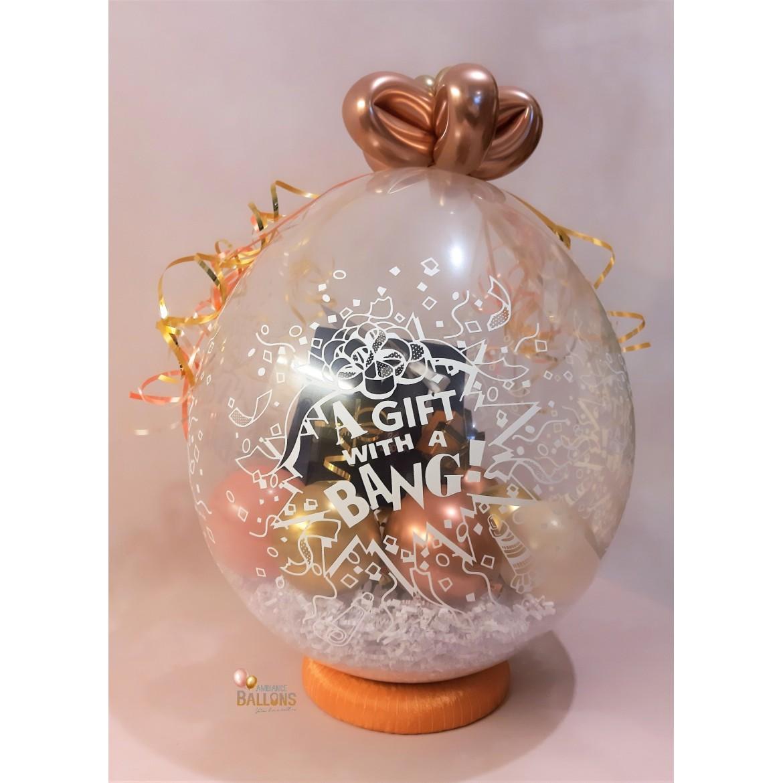 Le Ballon Cadeau - Balloon Gift