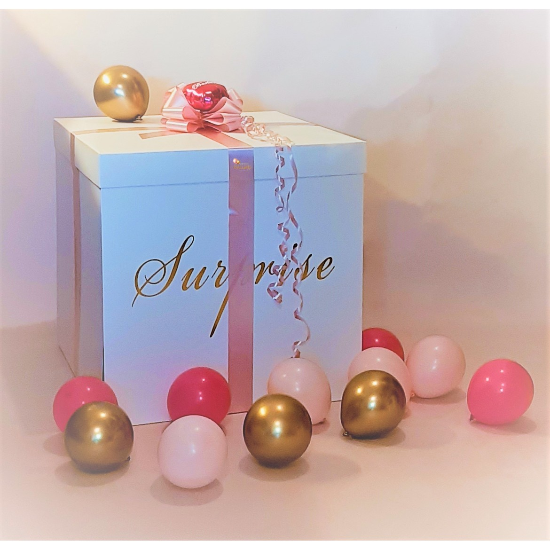 Ballon Box Carton surprise